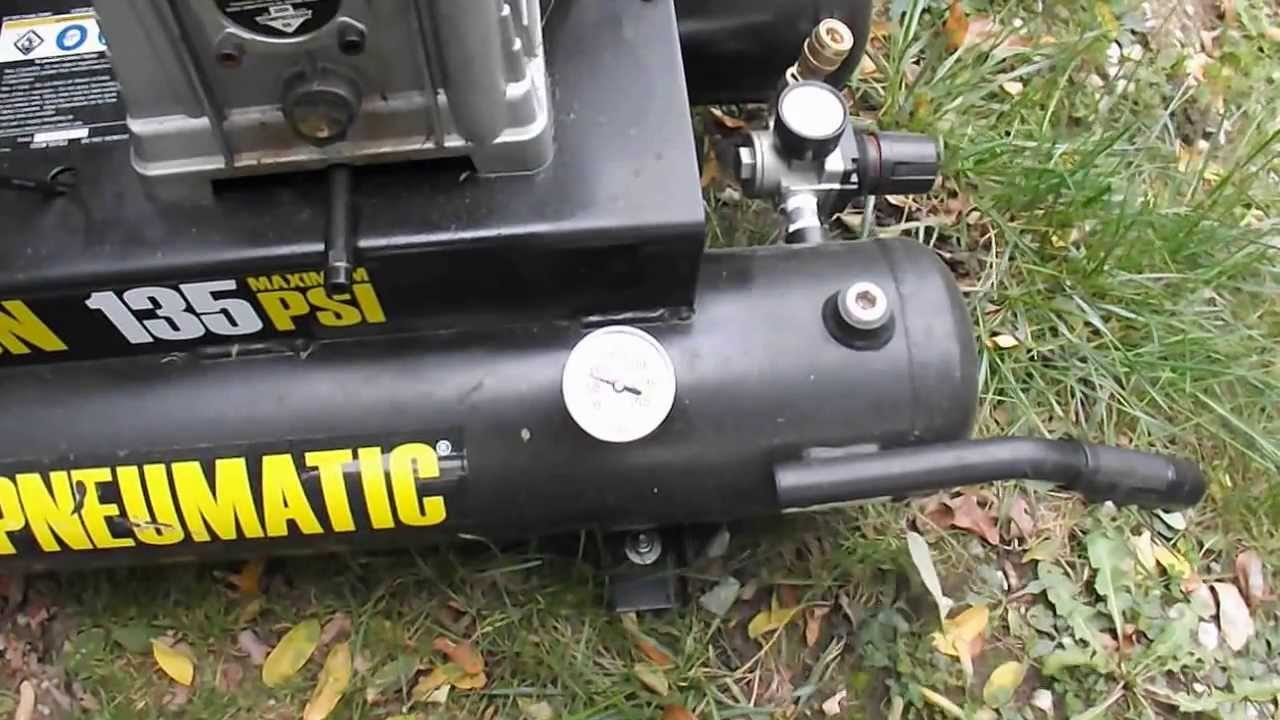 Central Pneumatic Air Compressor!