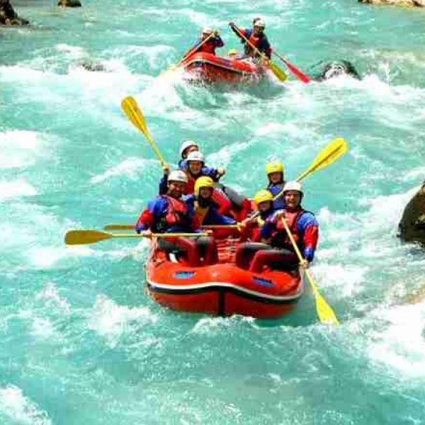 River Rafting Trips In Rishikesh On The Ganges